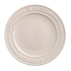"Belleek China 11"" Claddagh Dinner Plate"