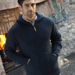 Gents Knit Hoody Sherwood